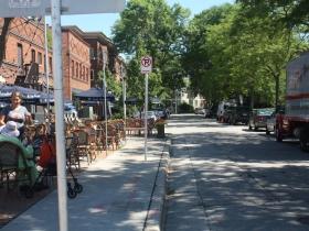 Hackett Avenue at Downer Avenue