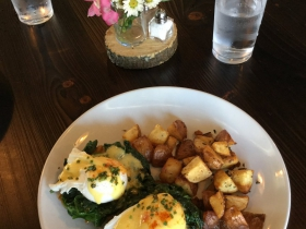 Curried Butternut Squash Benedict