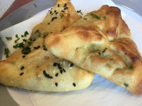 Fatayer....Spinach Pie