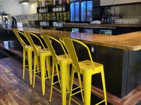 Seats at the bar