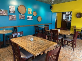 Dining room, Mobay Cafe