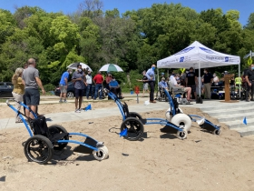 Accessibility improvements come to Bradford Beach