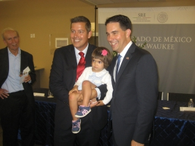 Sean Duffy and Scott Walker