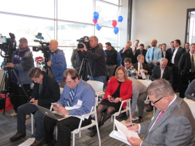 The press was out in force for Summerfest's announcement
