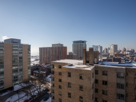 View from 1633 N. Prospect Ave., #12B