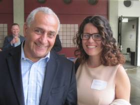 Ghassan Korban and Sarah Zarate