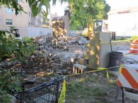 120 E. Land Pl. Demolition