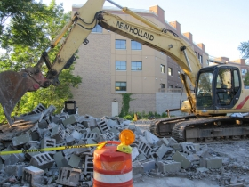 120 E. Land Pl. Demolition