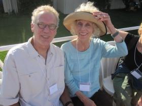 Richard Taylor and Lynn Lucius
