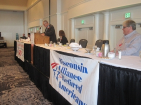 Wisconsin Alliance for Retired Americans event