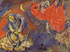 Jewish Museum Milwaukee: Chagall Tapestry