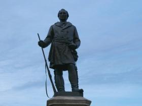 Solomon Juneau Statue