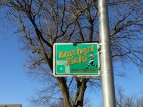 Keefe Avenue passes through the Borchert Field Neighborhood