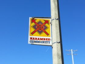 Keefe Avenue passes through the Harambee neighborhood