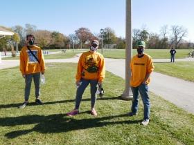 Election Defenders at Gordon Park.