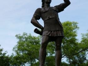 Leif, the Explorer Statue