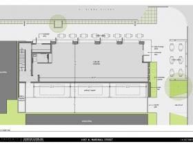 Lower level floor plan, 1697 N. Marshall St.