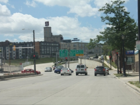 McKinley Avenue begins at the Milwaukee River and becomes W. Fond du Lac Avenue at N. 6th street