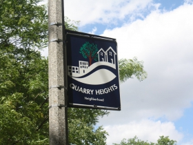 McKinley Avenue ends in the Quarry heights neighborhood in Wauwatosa
