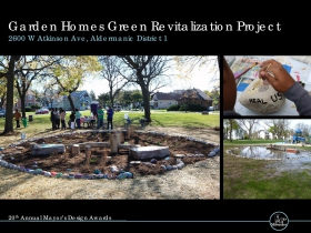 Garden Homes Green Revitalization Project, 2600 W. Atkinson Ave.