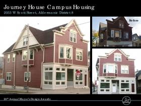 Journey House Campus Housing, 2033 W. Scott St.