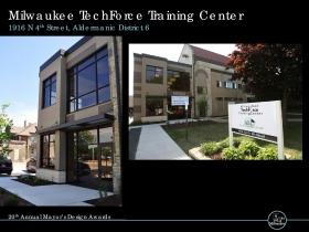 Milwaukee TechForce Training Center, 1916 N. 4th St.
