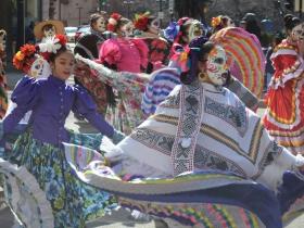 Mexican Fiesta at St. Patrick's Day Parade