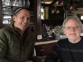 Mike Eitel with Ricardo Gonzalez