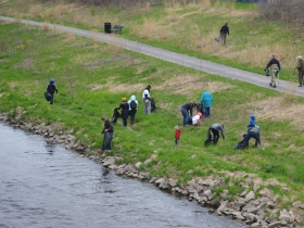 Milwaukee Riverkeeper Spring Cleanup
