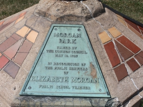 Morgan Park marker