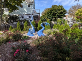 North Pierce Street sculptures