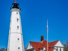 North Point Lighthouse, 2650 N. Wahl Ave.