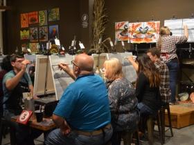 Splash Session at Splash Studio painting bar