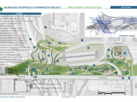 Milwaukee Overpass GI Stormwater Project Master Plan