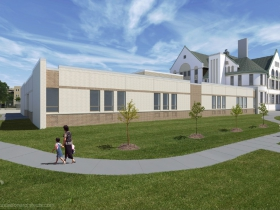 Rendering of the Maryland Avenue Montessori School addition