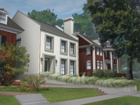 The Newest East Side Mansion Rendering