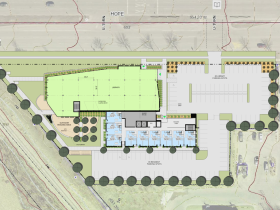 7717 W. Good Hope Rd. Site Plan.