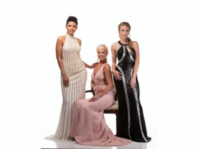 Alana Rodgers, Carla Vanderloop and Brittany Victoria