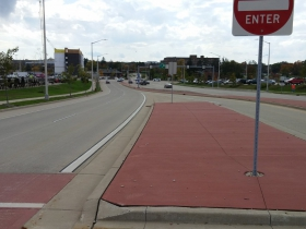 South end of N. Swan Boulevard