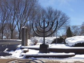 Spring Hill and Anshai Lebowitz Cemeteries are on Hawley Road