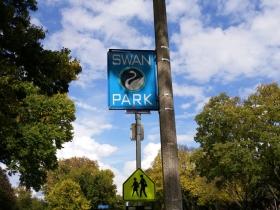 Swan Park neighborhood in Wauwatosa