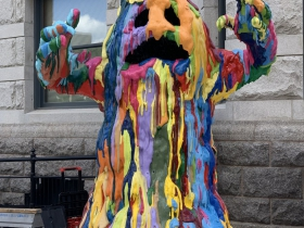 Tony Tasset: Blob Monster