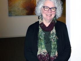 Artist Mary Mendla