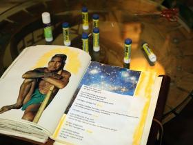 Creak logbook page 'INDIAN ARIE ' I Am Light'