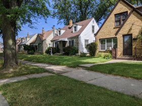 W. Lisbon Avenue homes
