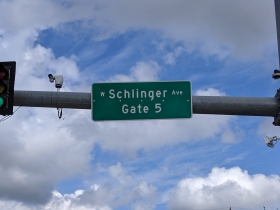West Schlinger Avenue begins at State Fair Park