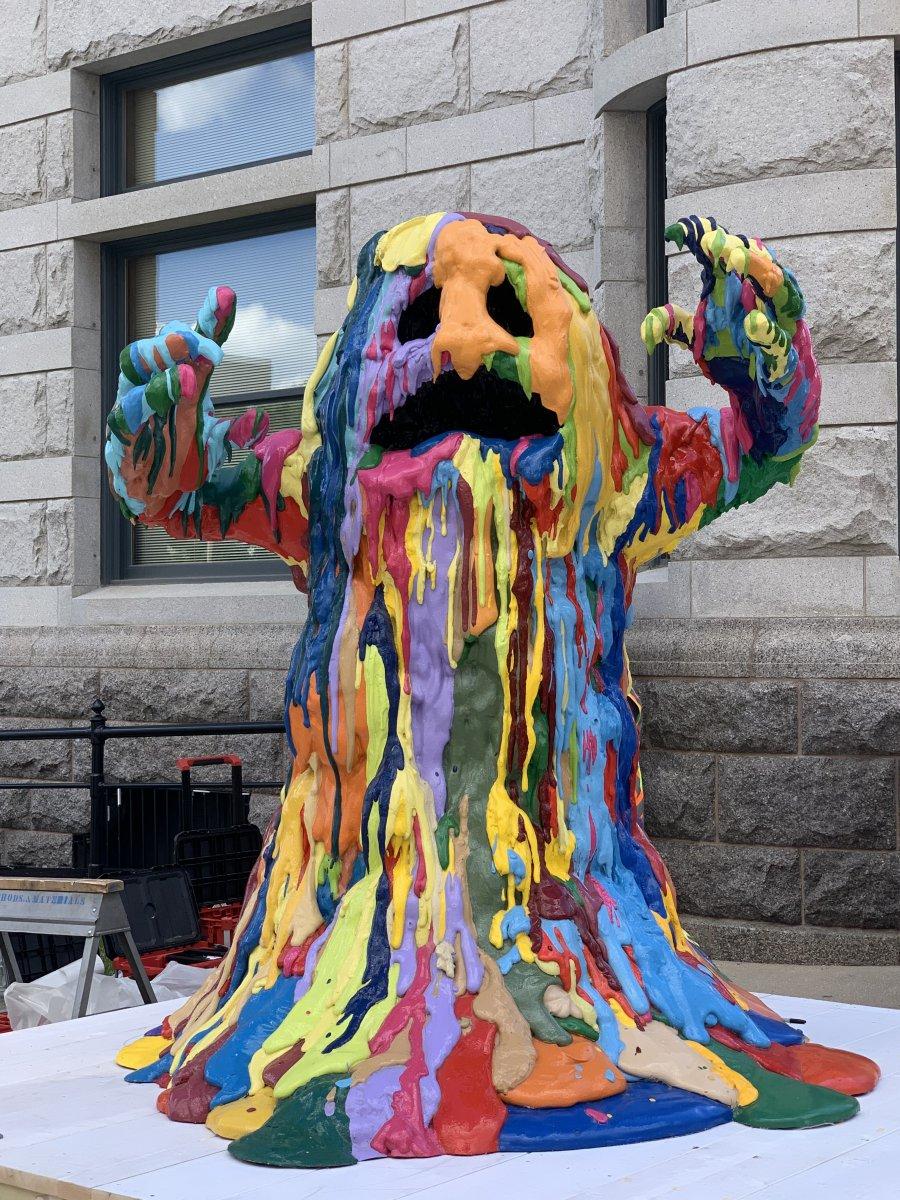 Tony Tasset: Blob Monster