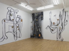 Santiago Cucullu 'Alta por Fuga' installation detail.