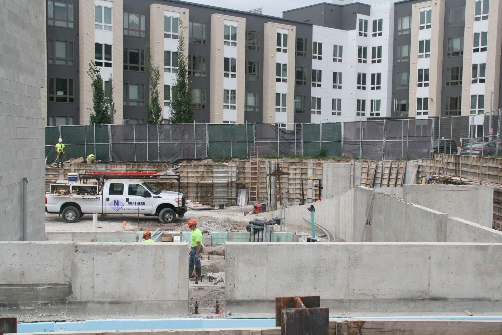 Hyatt Place Hotel Construction