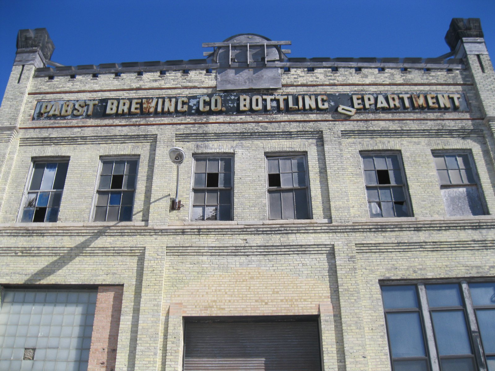 Pabst Brewing Co. Bottling Department